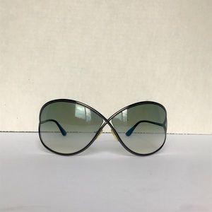Tom Ford Miranda Gradient Gray Lens Sunglasses